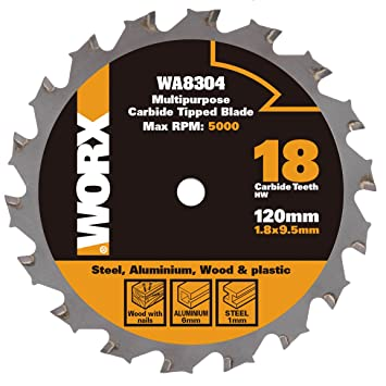 Worx wa8304 120 mm multi purpose blade for woodmetaltile worx wa8304 120 mm multi purpose blade for woodmetaltile silver greentooth Image collections