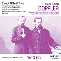 Doppler: Music For Flute And Piano (Claude Arimany/ John Steele Ritter/ Akan Branch) (Saphir Productions: LVC 1178)