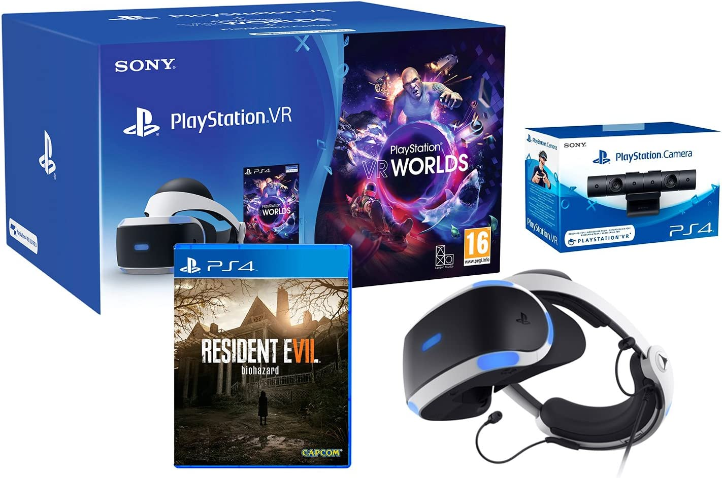 Playstation VR2 (cuh-zvr2) Resident Evil 7 Pack