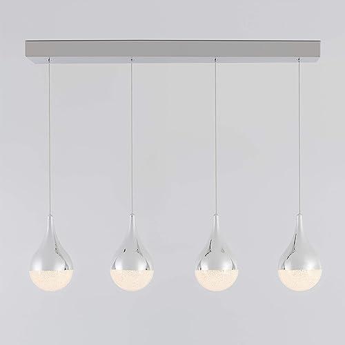 Artika Glitzer LED Integrated 4 Pendant Light