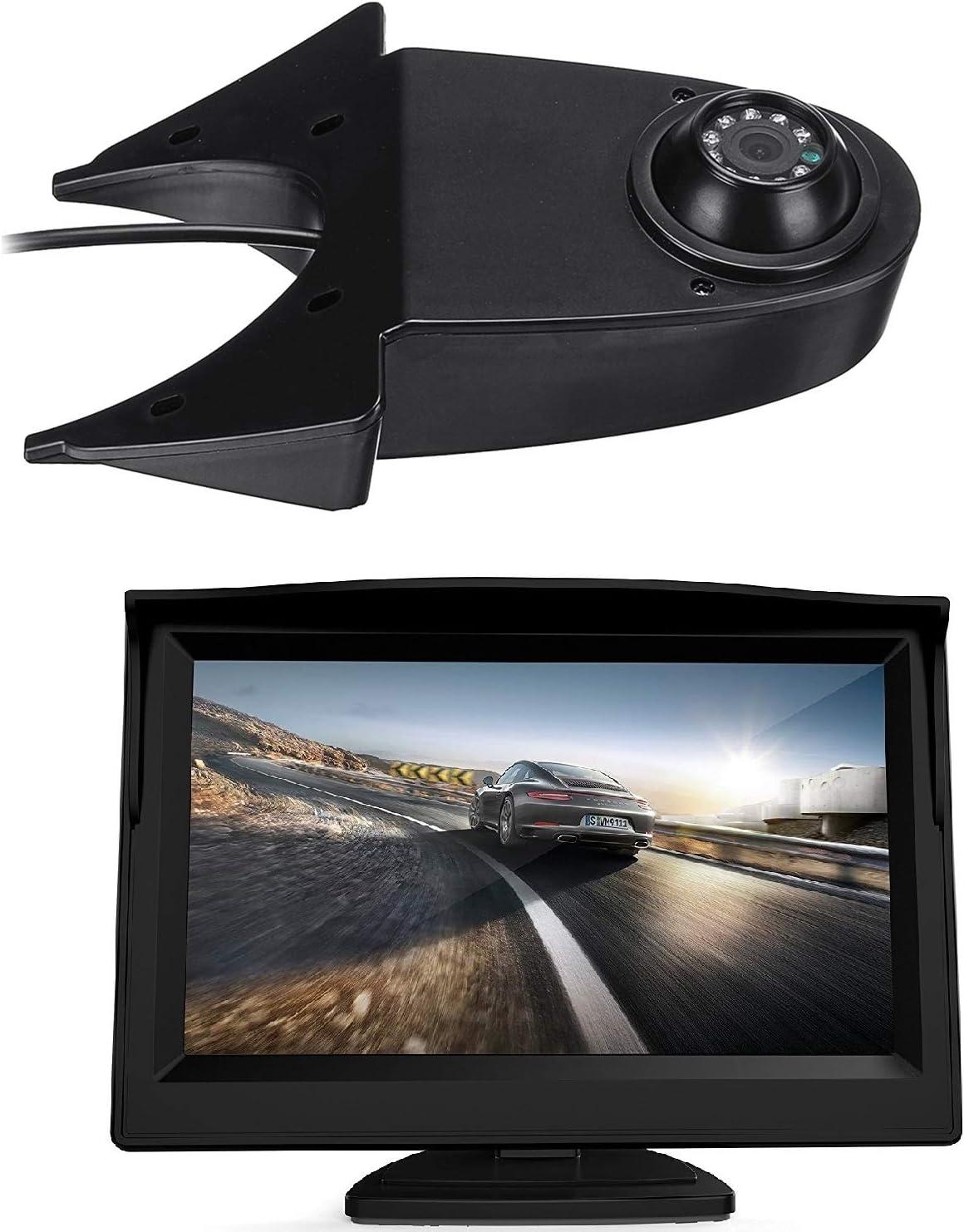 Hd 720p Dachkante Einparkhilfe Rückfahrkamera Integriert In 3 Bremsleuchte Kamera Für Mercedes Sprinter W906 Mb Viano