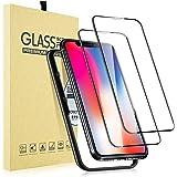 【2枚セット】 iPhone 11 Pro ガラスフィルム/iPhone XS/X ガラスフィルム 【ガイド枠付き】 5.8インチ用 ガラスフィルム 日本旭硝子製 強化ガラス 液晶保護フィルム iPhone11Pro ガラスフィルム