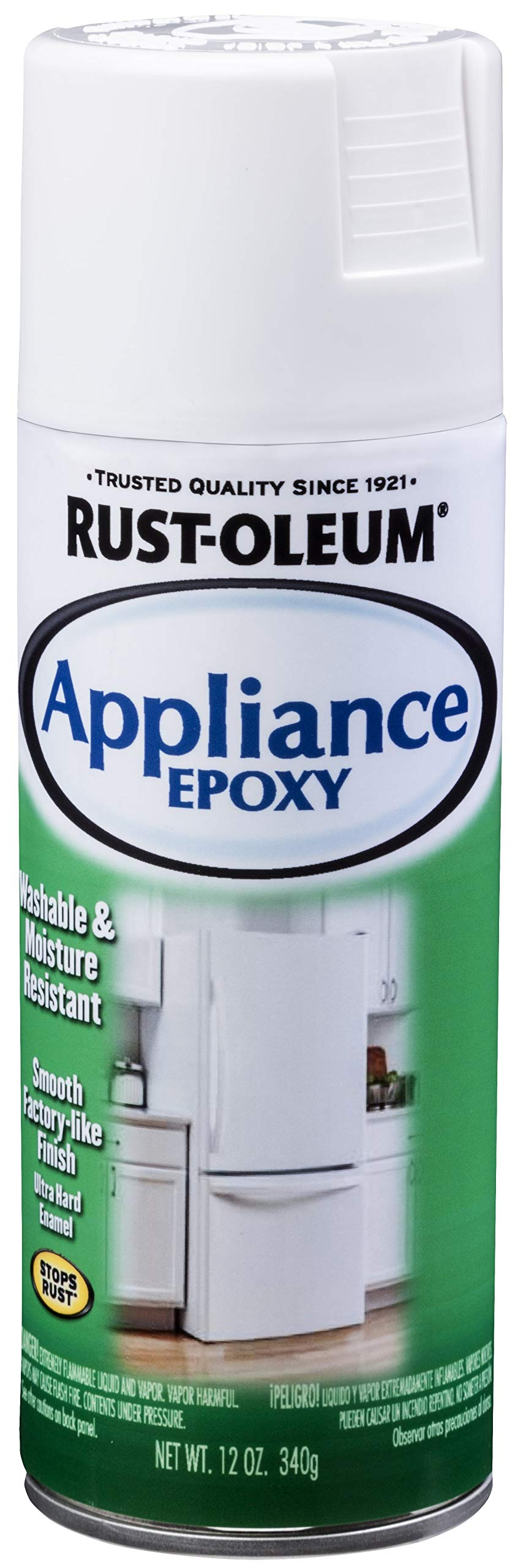 Rust-Oleum 7881830 7881-830 Appliance Epoxy, 12 oz, White