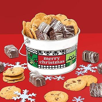 David S Cookies Merry Christmas Cookies Brownie Bites Bucket Signature Crispy Delicious