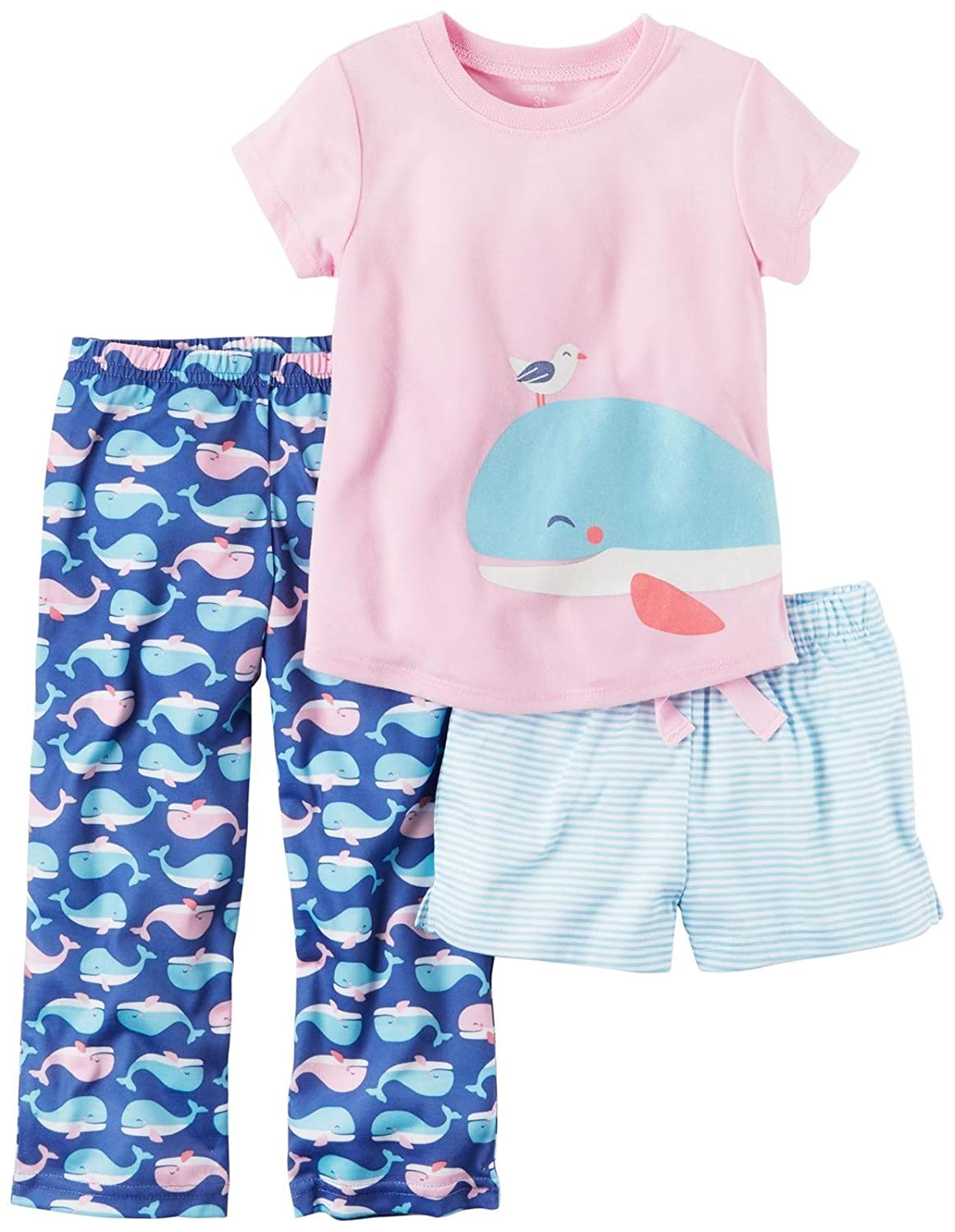 Carters Girls 3 Pc Poly 393g035