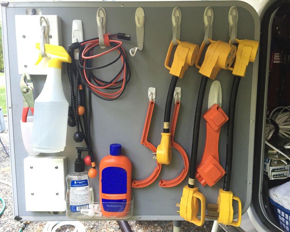 Miady 30AMP Male 4-Prong Locking Plug to 50 AMP Female 12 Inch RV Generator Adapter STW 10//4 Power Cord