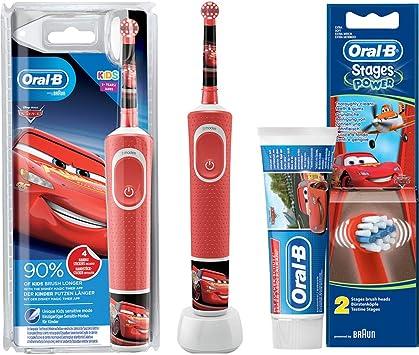 Oral B Vitality KIDS CARS Elektrische Zahnbürste mit Disney