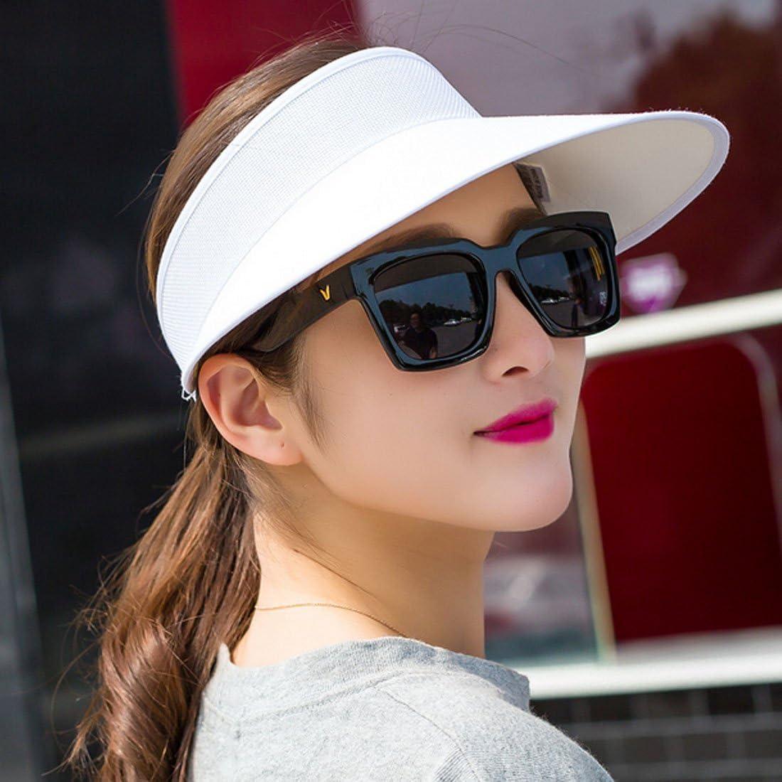 Lerben/® Fashion Womens Summer Travel Wide Brim Visor Plain Hats Cap Beach Sun Hats