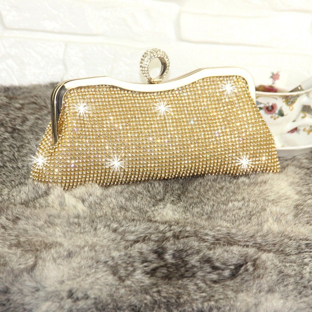 Clutch Bag Dinner Celebrity Embroidered Xcf Diamond Wlq WtYFwq44HR