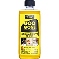 Goo Gone Citrus Scented Cuts Grease, Oil, Gum, Adhesive Residue - 2Oz Bottle