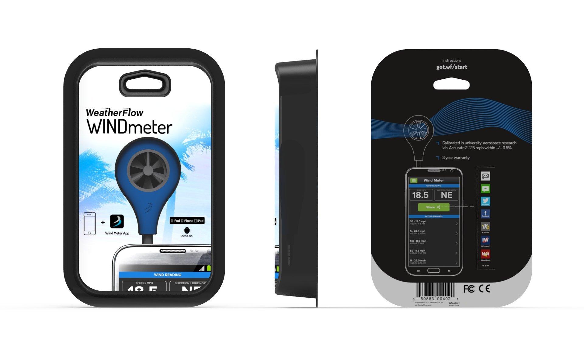 WeatherFlow Wind Meter for Smart Phone