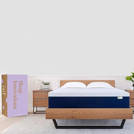 Sleep Innovations Shiloh 14 Inch Memory Foam Mattress King White Home Kitchen Amazon Com