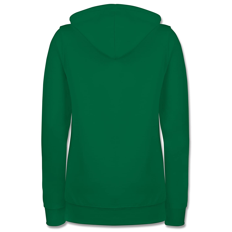 Statement Shirts - Scheiß auf auf auf den Prinzen, ich nehm den Gaul - Damen Hoodie B01N4644X2 Kapuzenpullover Hohe Qualität 4228f8