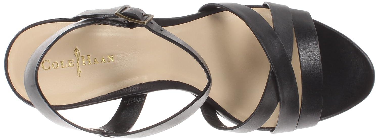 Cole Haan Women's Melrose Wedge Sandal B00EKAZJVG 10.5 B(M) US|Black