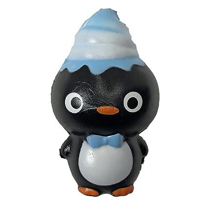 Amazon.com: Mr flippii el pingüino Squishy: Toys & Games