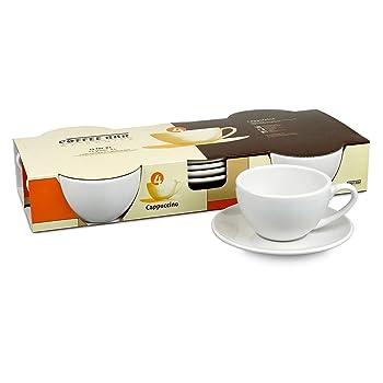 Konitz White Cappuccino Cups