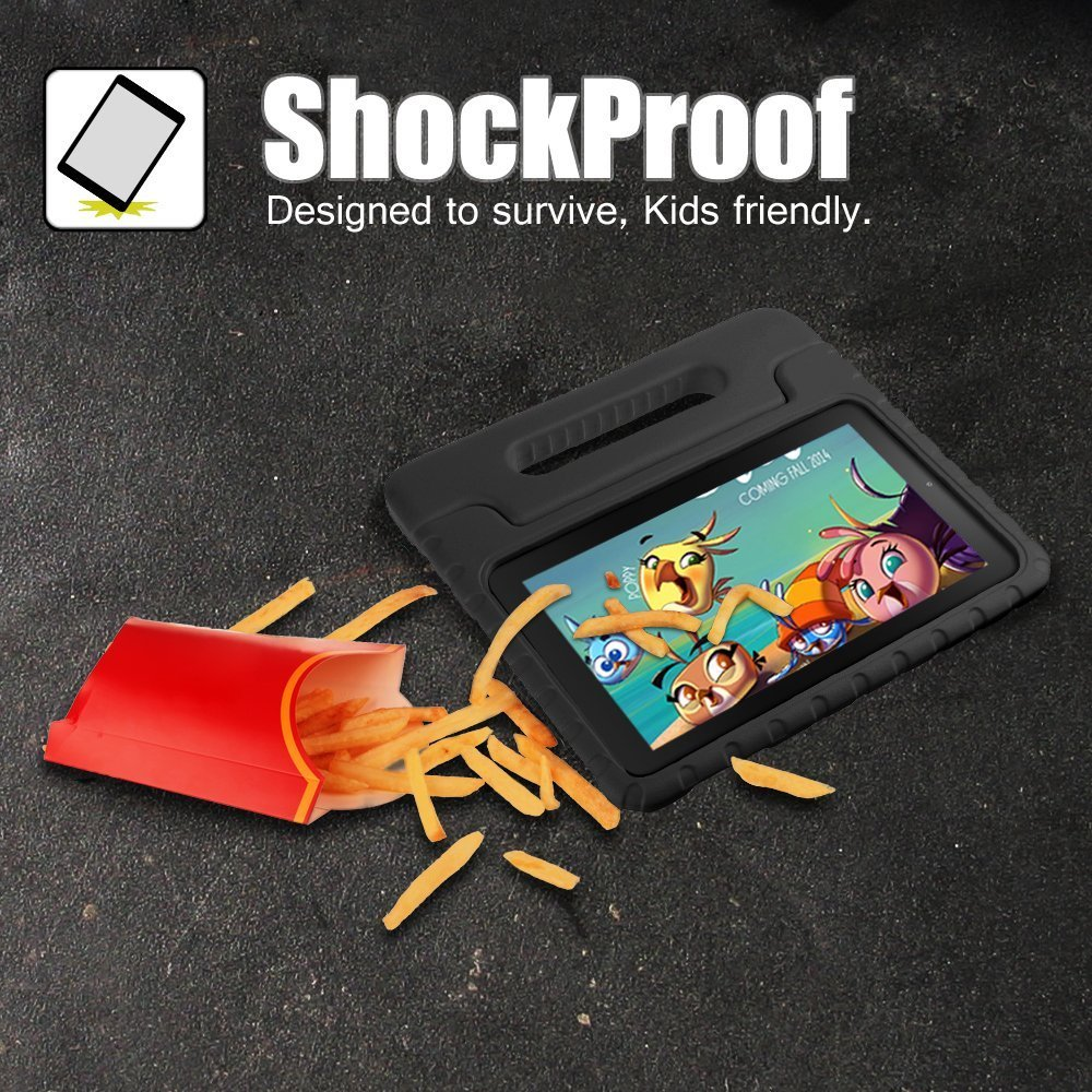 Blue Dininis All-New Fire HD 8 2018 Tablet Case Super Light Weight Shock Proof Handle Kid-Proof Cover Kids Case for All-New Fire HD 8 Inch Tablet 8th//7th//6th Generation, 2018//2017//2016 Release