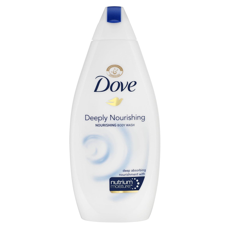 Dove Moisture Deeply Nourishing Body Wash, 500 ml, Pack of 6 Unilever 8682870