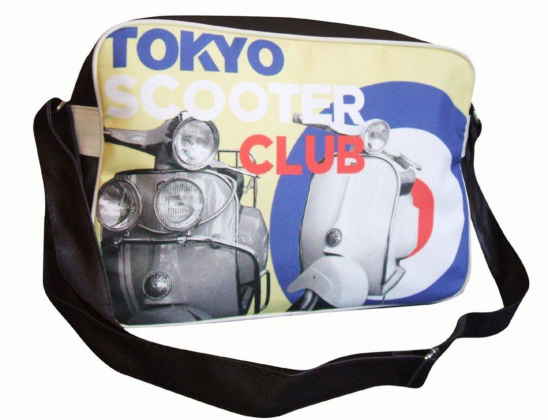 c61e50e3b8 cool retro Vespa scooter Shoulder Bag