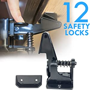 Sweepstakes: Cabinet Locks Safety Adhesive 3M Baby Safe Child Drawer…
