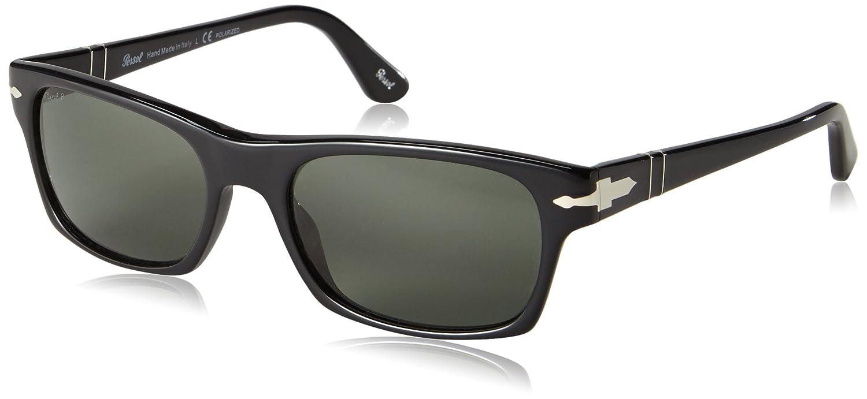 2534aecd755 Persol Women s Polarized PO3037S-95 58-54 Black Wayfarer Sunglasses  Persol   Amazon.ca  Luggage   Bags
