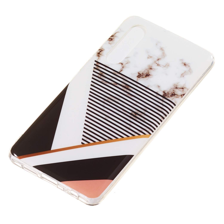 DOYHU260796 D6 Docrax Huawei P30 Handy H/ülle Handyh/ülle Silikon Sto/ßfest Kratzfest Schutzh/ülle Bumper Case f/ür Huawei P30