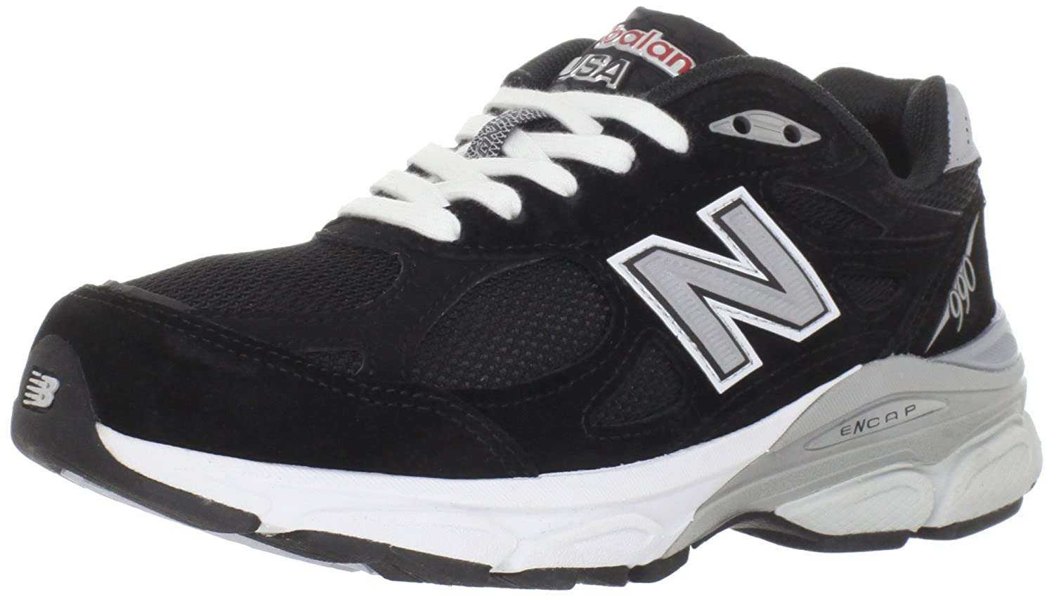 New Balance Women's 990V3 Running Shoe B005P1ZKLI 9.5 D US|Black