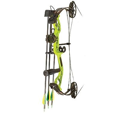 Amazon com : PSE Mini-Burner Lime Green 25in 29lb Ready-to