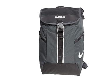 73a2e576e128e NWT NIKE LEBRON Max Air Backpack, Laptop Sleeve - Black Grey Silver, Small  (1099 cu.in.)