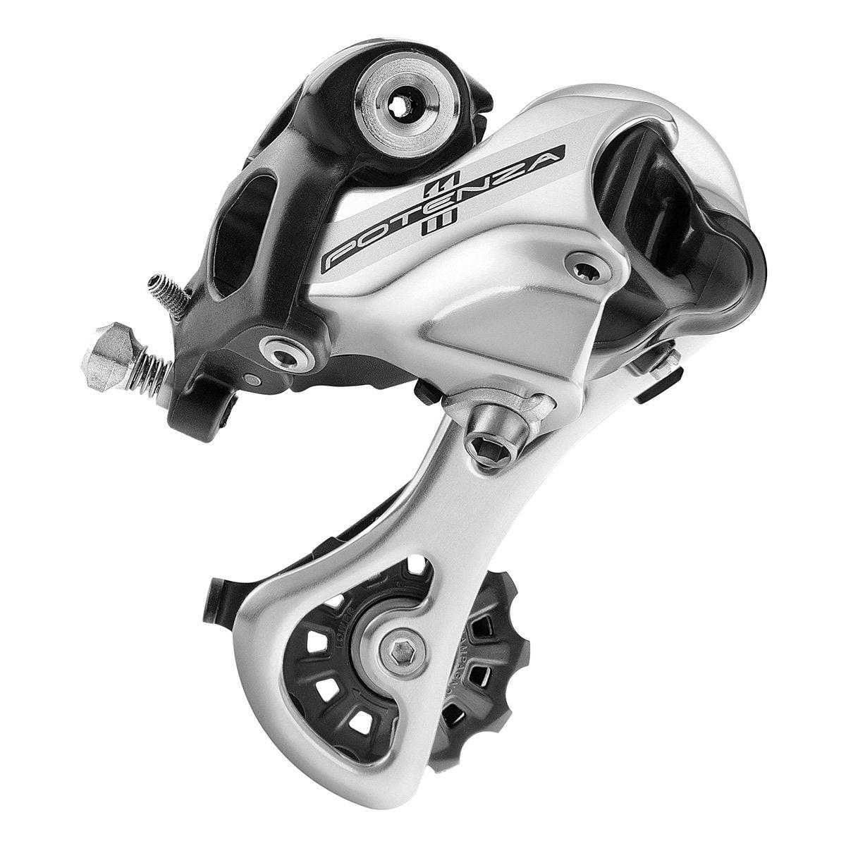 Campagnolo Potenza Ho rd18 11-speed背面自転車Derailleur B07312VV1W S(ショート)(RD18-POS1S)|シルバー シルバー S(ショート)(RD18-POS1S)