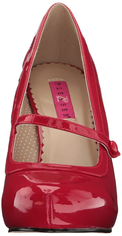 Pleaser Women's Pinup01/r B(M) Platform Pump B06XH4SX21 12 B(M) Pinup01/r US Red Patent 5020e3