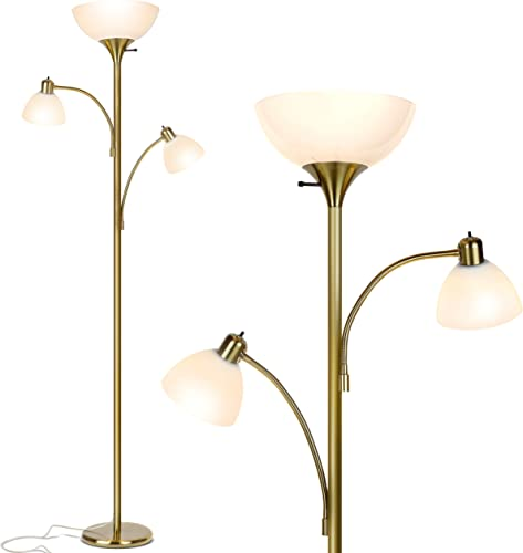 Brightech Sky Dome Double High Brightness Torchiere Floor Lamp