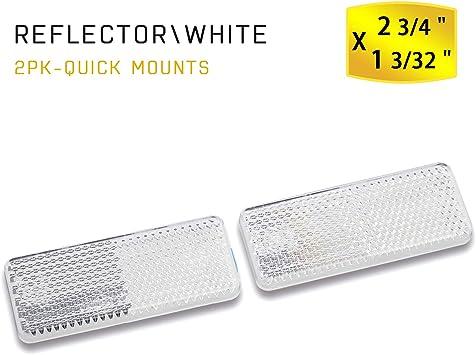 Clear BSK 1 pair Motorcycle LED Turn Signal indicator blinker light Clear Lens Universal for Honda Suzuki Yamaha Kawasaki