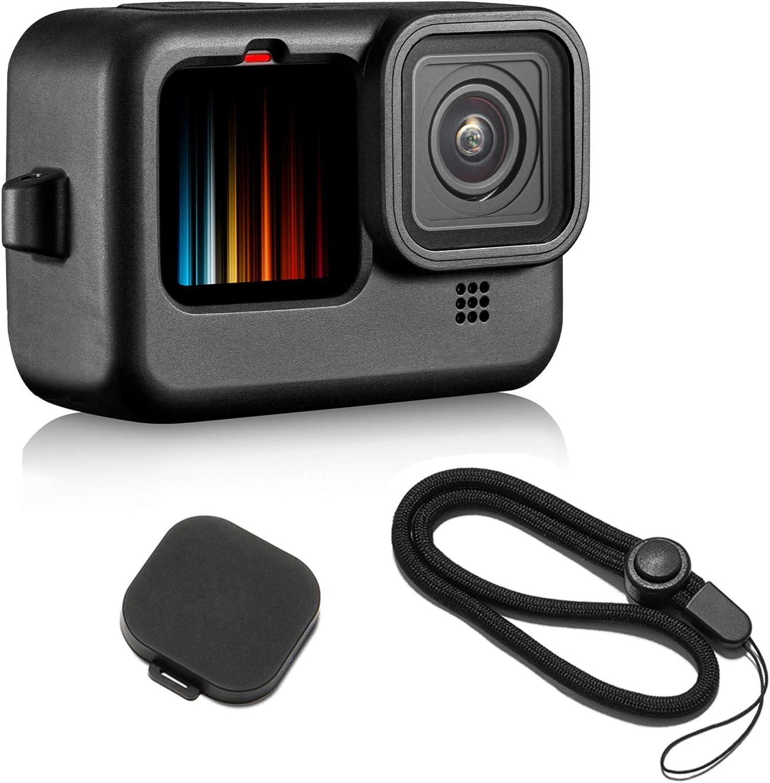 Funda de silicona para GoPro Hero 9 Black cordón y accesorio
