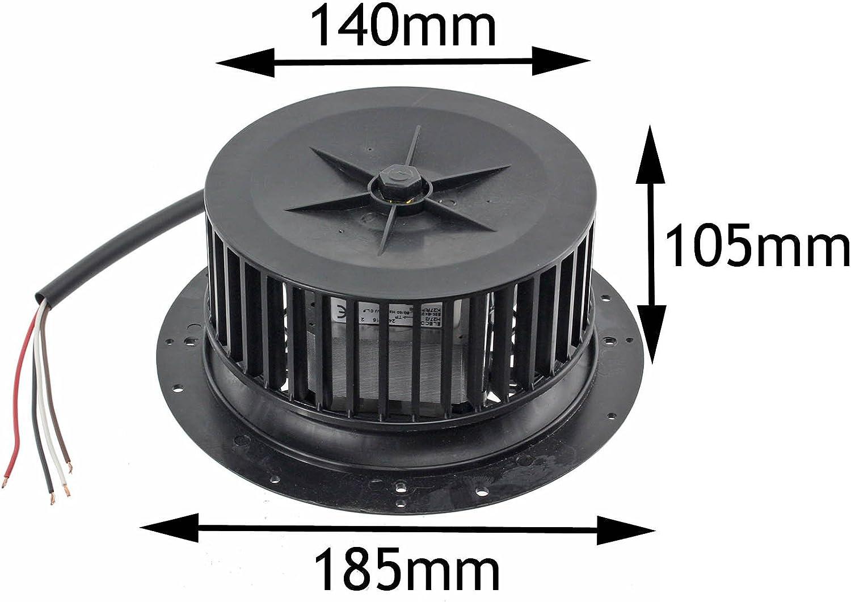 SPARES2GO Universal 135 W para campana extractora de Motor y ventilador de la unidad (a la derecha de la mano derecha direccional): Amazon.es: Hogar