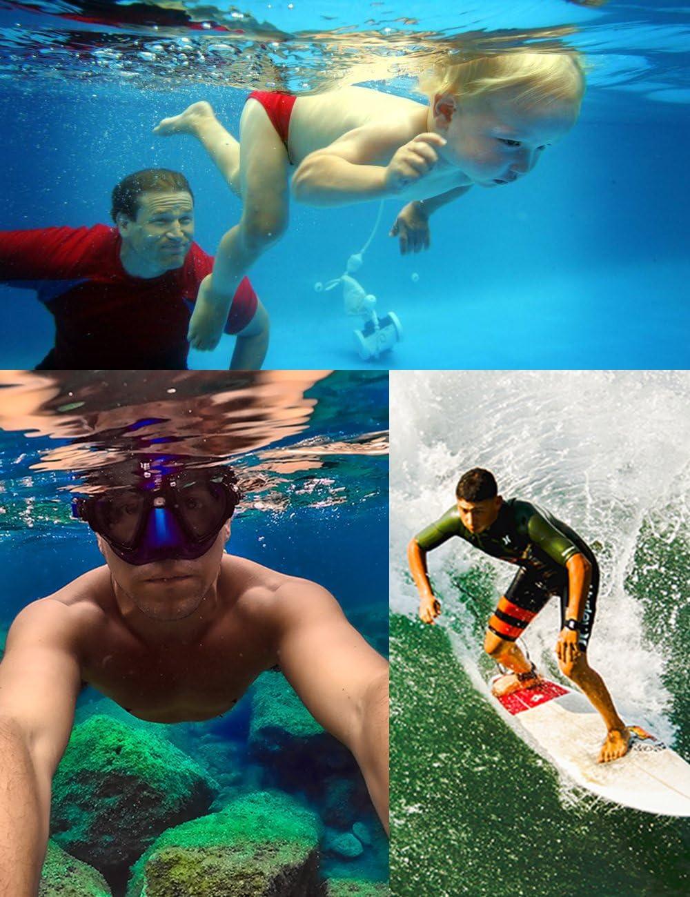 Wristband for Underwater GoPro,Waterproof Camera Keys,Sunglass,etc Yellow Kolasels Waterproof-Non-Slip Camera Float Strap with Hand Grip Lanyard