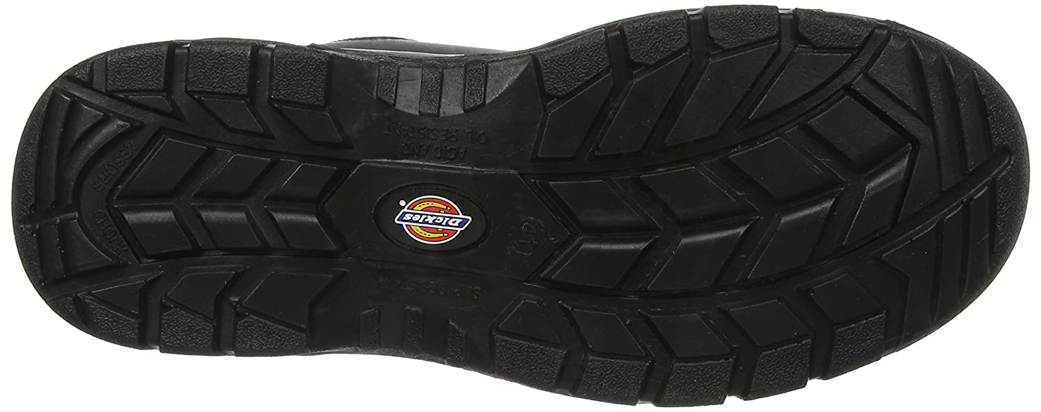 37 EU Regular Dickies Mens Fury S1-P Safety Boots FA23380A Black 4 UK EN safety certified