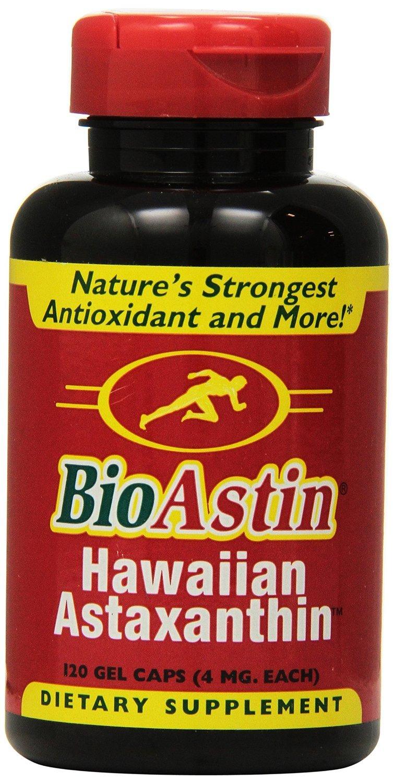 Nutrex Hawaii BioAstin Natural Astaxanthin 4mgs., 480 gel caps Pack Nutrex-4j