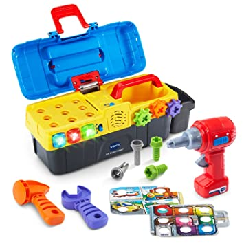 Amazoncom Vtech Drill Learn Toolbox Toys Games