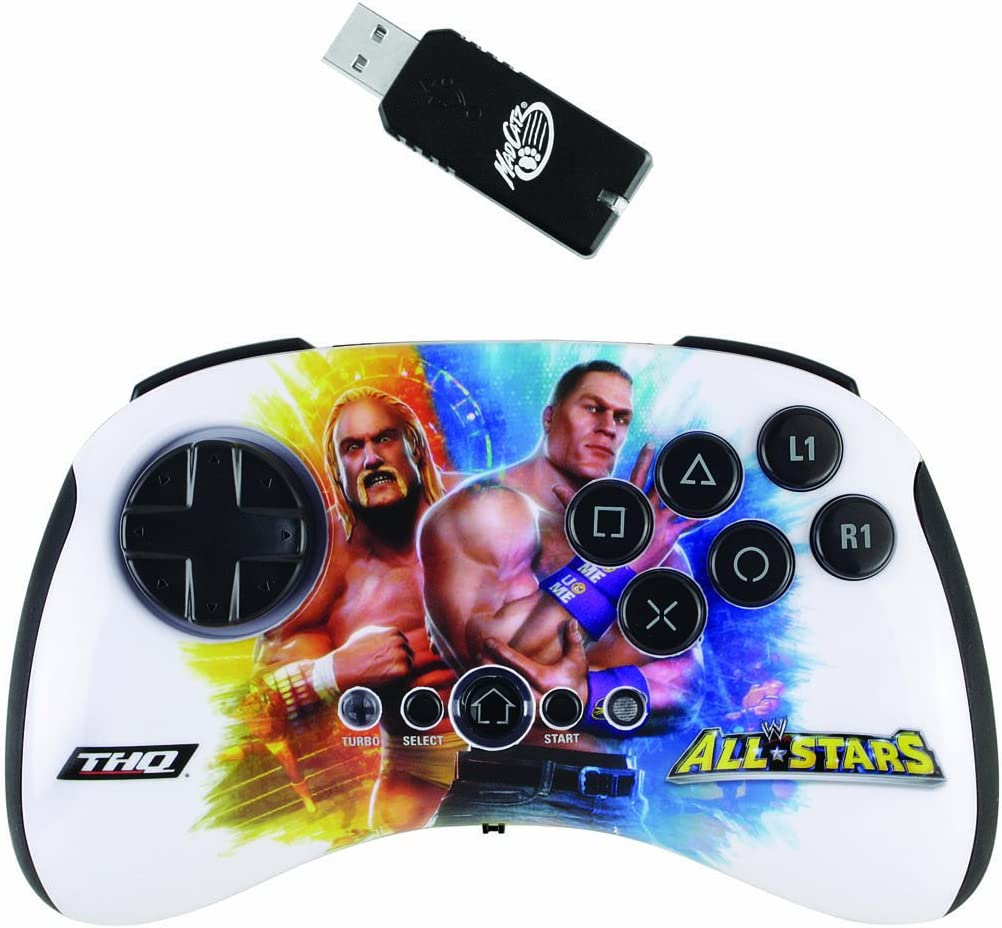 Mad Catz WWE All STARS Wireless BrawlPad - Volante/mando (Gamepad ...