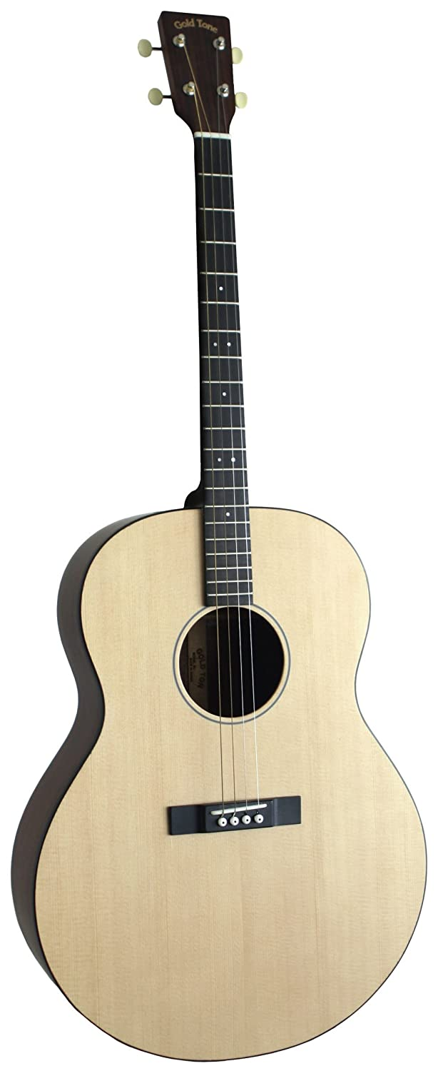 Amazon.com: Gold Tone TG-18 Tenor Guitar (Four String, Natural): Musical  Instruments