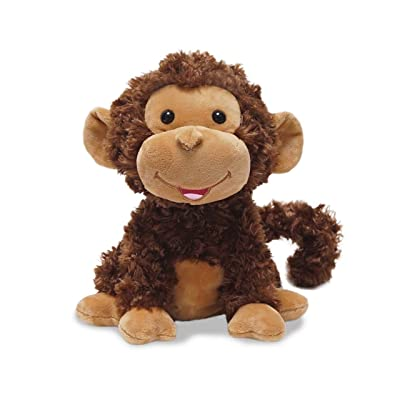 "Cuddle Barn Crackin' Up Coco Monkey Animated Musical Plush Toy, 10"" Super Soft Cuddly Stuffed Animal Will Have Your Child Cracking up at its Fun Movement, Contagious Laughter and Funny Monkey Noises: Toys & Games"