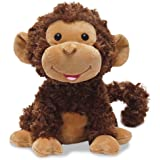 "Cuddle Barn Crackin' Up Coco Monkey Animated Musical Plush Toy, 10"" Super Soft Cuddly Stuffed Animal will Have your Child Cra"