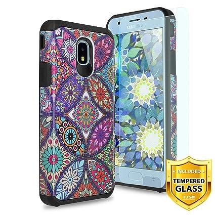 Amazon.com: TJS - Carcasa para Samsung Galaxy J3 2018/J3 V ...