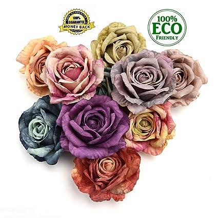 Amazon Silk Flowers In Bulk Wholesale Peony Flower Head
