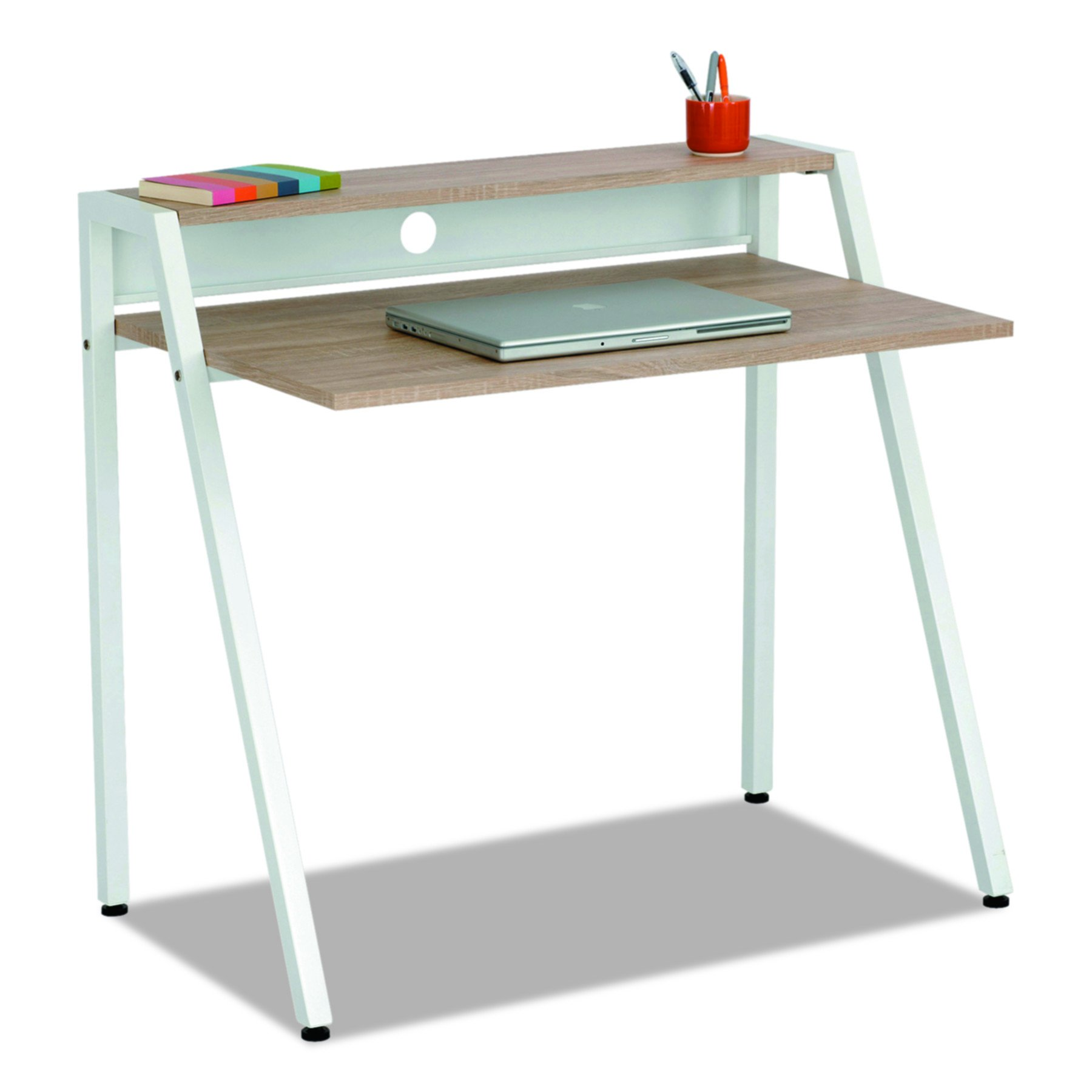 Safco Products 1951WH Studio Writing Desk, White