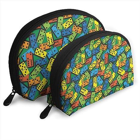 DHSJWIEU23 Colorido Domino Bolsa de Mano portátil Bolsa de ...