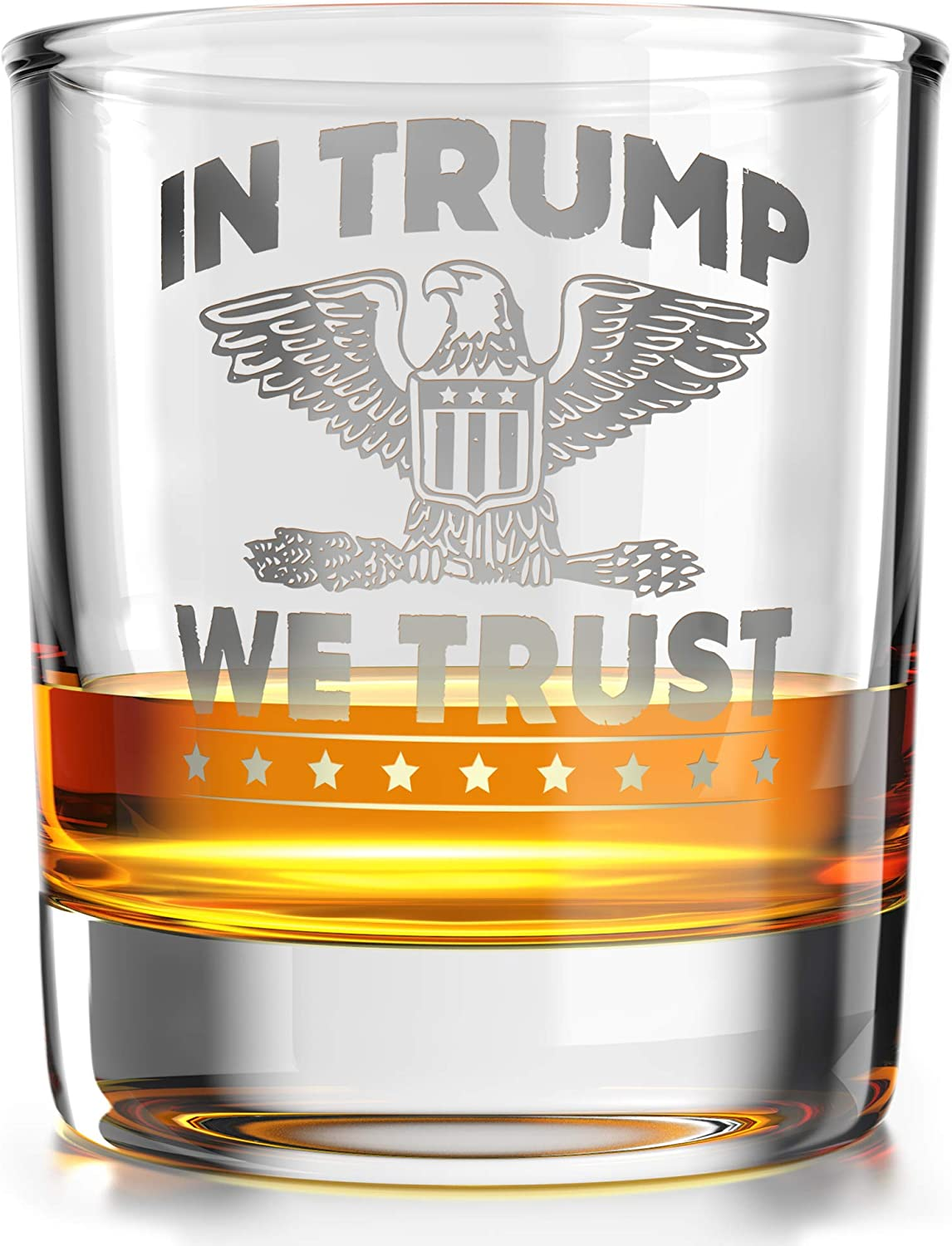 Trump 2020 10 OZ F YOUR FEELINGS Old Fashioned Whiskey Rocks Glass