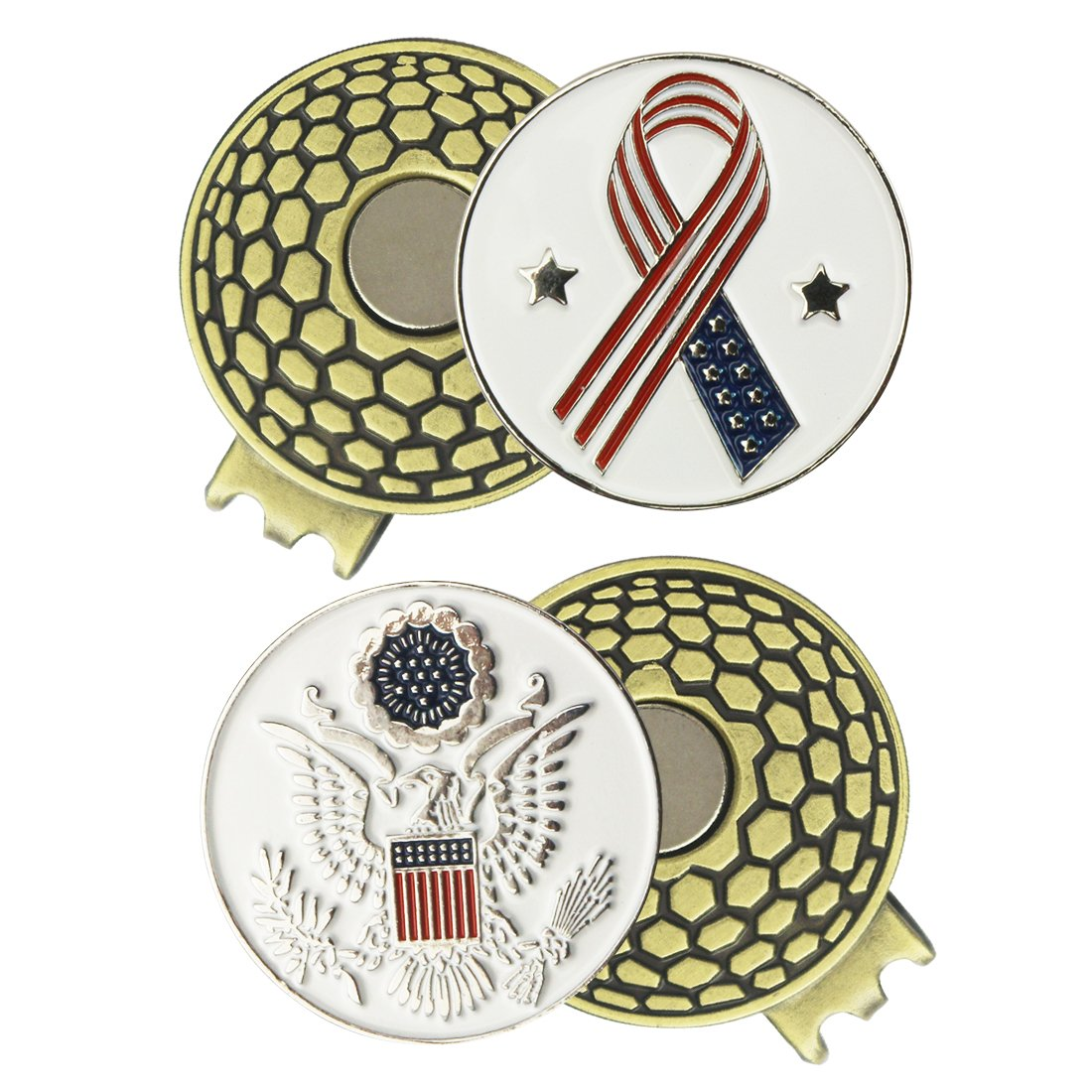 Best Rated In Golf Ball Markers Helpful Customer Reviews Amazon