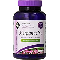 Diamond Herpanacine Natural Skin Support Supplement 100 capsules | for Complete Skin Health